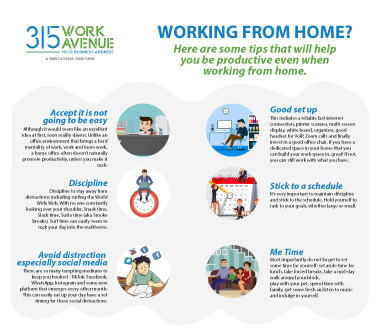 Check out some of the things you should be aware of while working from home to make sure your work is seamless