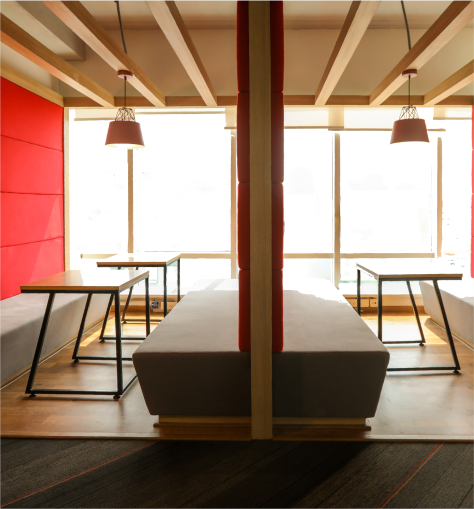 Different Types of Spaces Available at a Coworking Office